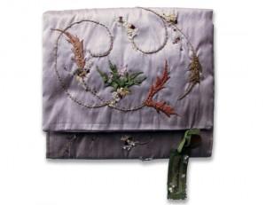 Charlotte Dickson   Lilac Silk Pouch